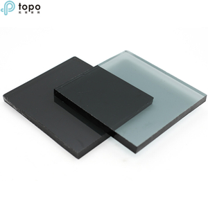 China Dark Grey Tinted Float Glass Sheets