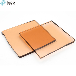 9.5mm 10mm Pink Float Glass for Lighting Decoration