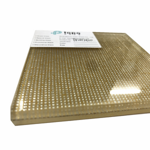 Decorative Laminated Wire Mesh Glass