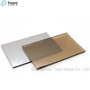 5mm 6mm Golden Bronze Reflective Float Glass in China