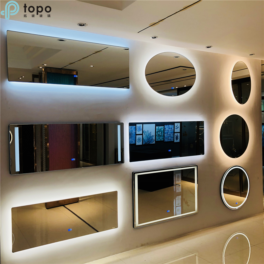 Decorative Home and Hotel LED Light Mirror