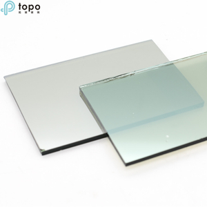 5mm-10mm Coated Reflective Glass with French Green Color