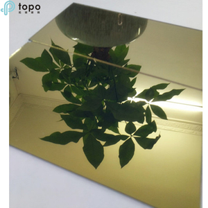 Tinted Mirror Sheet Glass For Building